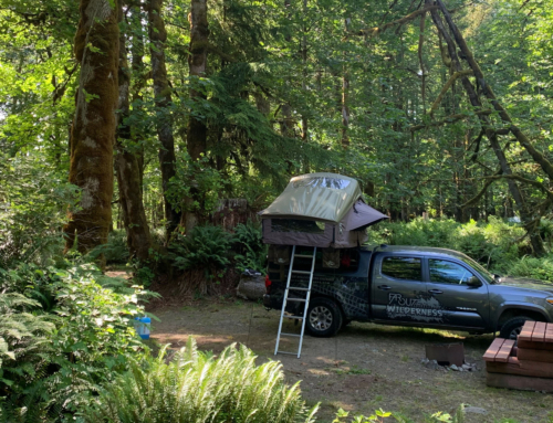 Camping without a reservation on Vancouver Island