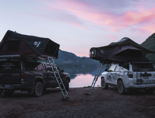 See the Wilder Side of Vancouver Island This Fall: Camp in A Roof Top Tent!